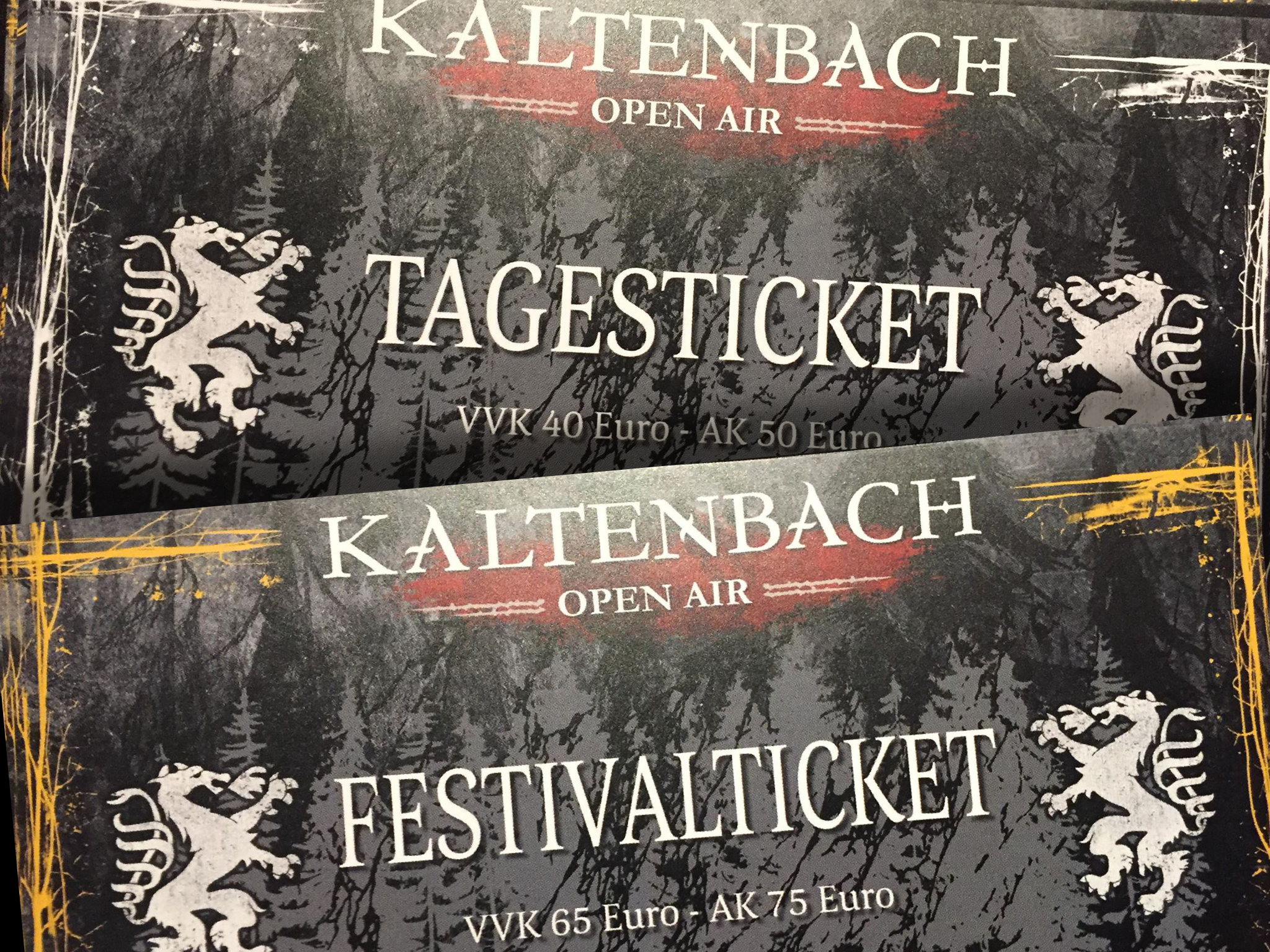 Ticket to Kaltenbach Open Air