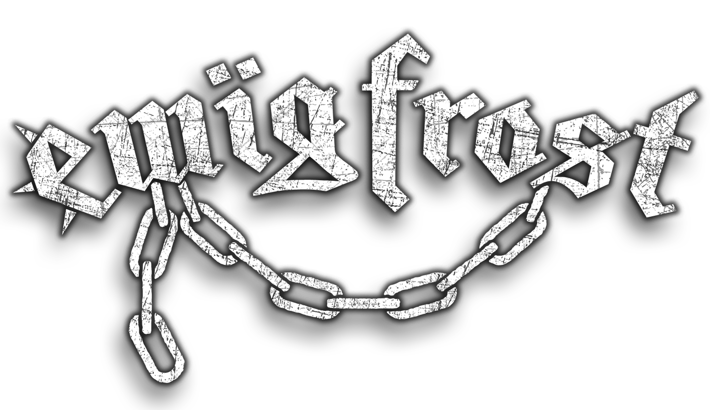 Ewig Frost Band Logo Scratched